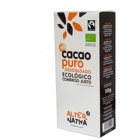 Cacao puro desgrasado.500gr.
