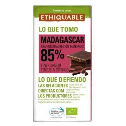 Chocolate BIO Madagascar 100 gr