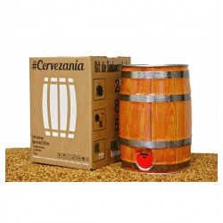 Kit de embarrilado para cerveza artesana