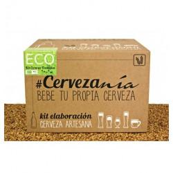 Kit elaboración cerveza ecológica