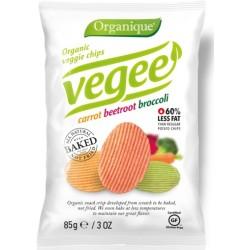 Chips de patata con hortalizas Vegee, 85 g