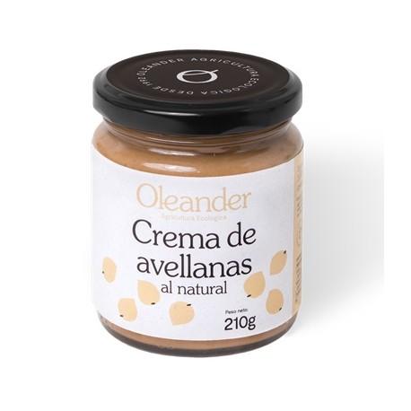 Crema de avellana cruda (210g)