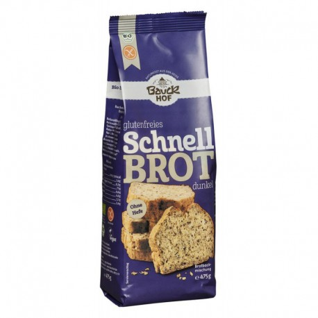 Pan rapido moreno de arroz