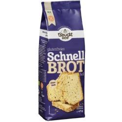Pan rápido blanco de arroz con lino