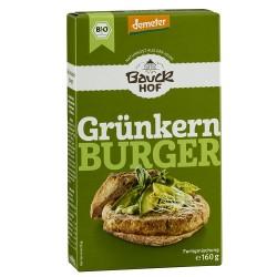 Hamburguesa verde con puerro y sésamo, 160g