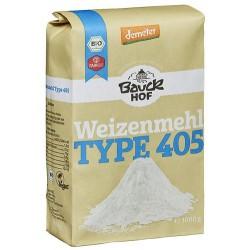 Harina de fuerza de trigo, tipo 405, (1 kg)