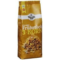"""Muesli """"ligero"""" 3 cereales sin gluten, 225g"""