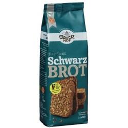 Pan moreno de arroz con semillas sin gluten