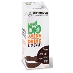 Bebida de avena con cacao, The Bridge, 1 litro