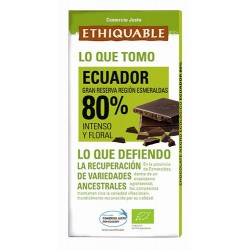 Chocolate BIO Ecuador 100 gr