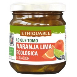 Confitura Extra BIO Naranja y Lima 240 gr.