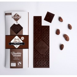 Tableta chocolate negro 100% cacao