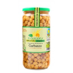 Garbanzo pedrosillano cocido Ecolecera frasco 660g