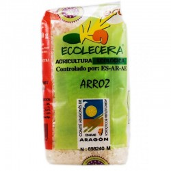 Arroz blanco semi largo Ecolecera, 500 g