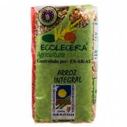 Arroz integral semi largo Ecolecera, 500 g