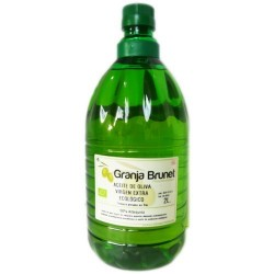 Aceite de oliva arbequina, 2 litros