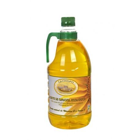 Aceite de girasol Cachopo, 2 litros