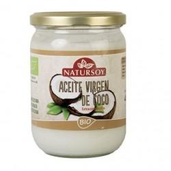 Aceite virgen de coco Natursoy, 400 g