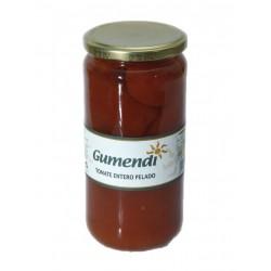 Tomate entero pelado Gumendi, 660 g