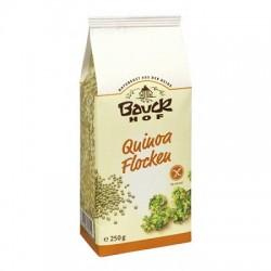 Copos de quinoa sin gluten, Bauck, 250 g