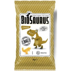 Biosaurus de maiz con sal marina, 80g