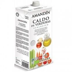 Caldo de verduras Amandin, 1 litro