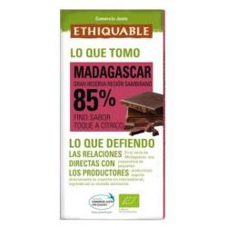Chocolate extra negro 85% Madagascar 100 g