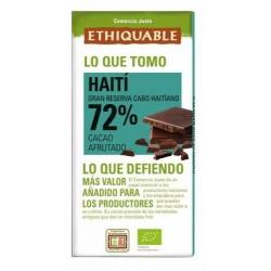 Chocolate negro 72% BIO Haiti 100g