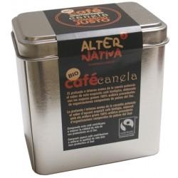Café Aromatizado a la Canela en lata molido BIO-FT. 100gr