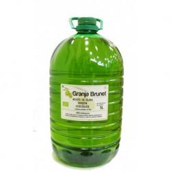 Aceite de oliva arbequina. 5 litros