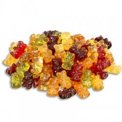 Gominolas de ositos de colores sin gelatina (200g)