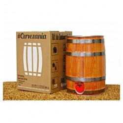 Kit de embarrilado para cerveza artesana