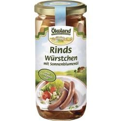 Salchichas alemanas de ternera, 180 g