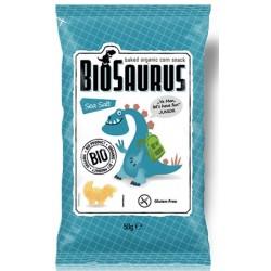Biosaurus de maiz con sal marina