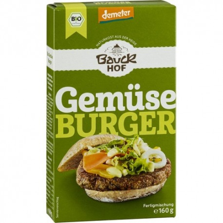 Hamburguesa de hortalizas (160g)