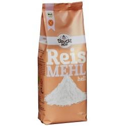 Harina de arroz blanco sin gluten
