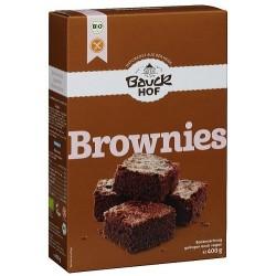 Brownies Bauck sin gluten, 400 g