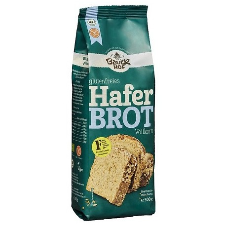 Pan de avena sin gluten Bauck, 500g