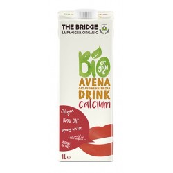 Bebida de avena con calcio, The Bridge, 1 litro