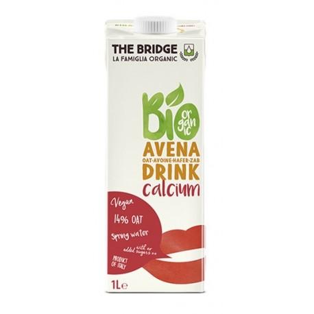 Bebida de avena con calcio, The Bridge, 1 litro
