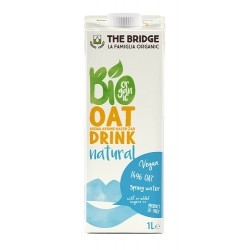 Bebida de avena natural, The Bridge, 1 litro