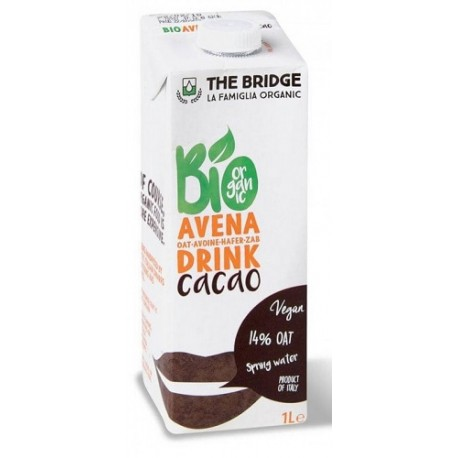 Bebida de avena con cacao, The Bridge, 1 litro