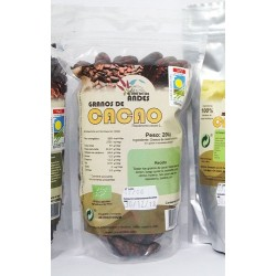 Cacao en grano 200g