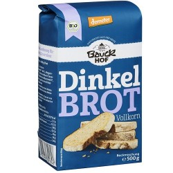 Pan integral de espelta Bauck (500g de preparado)