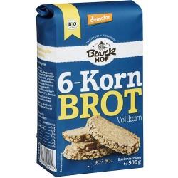 Pan integral 6 cereales (preparado de 500g)