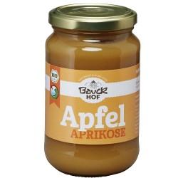 Puré de manzana y albaricoque (360g - sin azúcar)