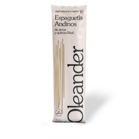 Espaguetis de arroz y quinoa sin gluten 250g