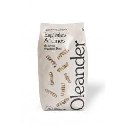 Espirales de arroz y quinoa sin gluten Oleander, 500g