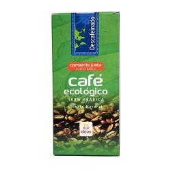 Café Descafeinado molido BIO 250g