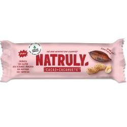 Barrita de cacao y cacahuete Natruly 40g